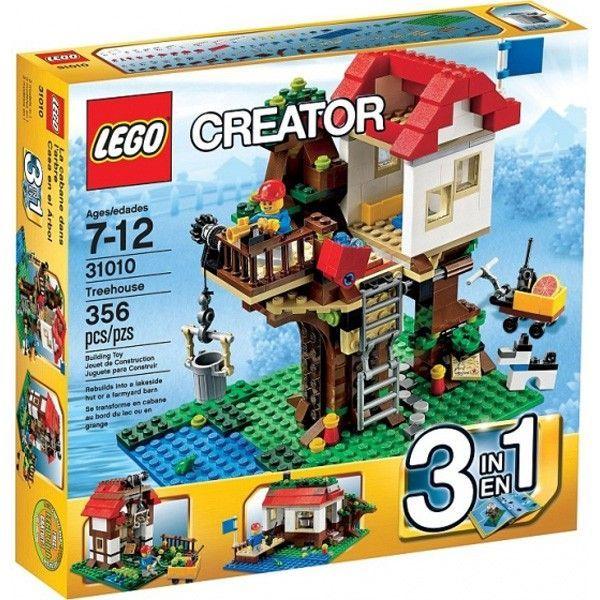 Конструктор lego creator домик на дереве 31010